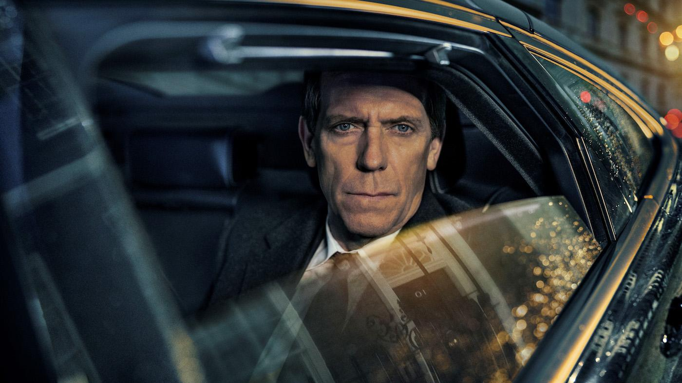 Hugh Laurie as Peter Laurence in 'Roadkill.' Photo: The Forge