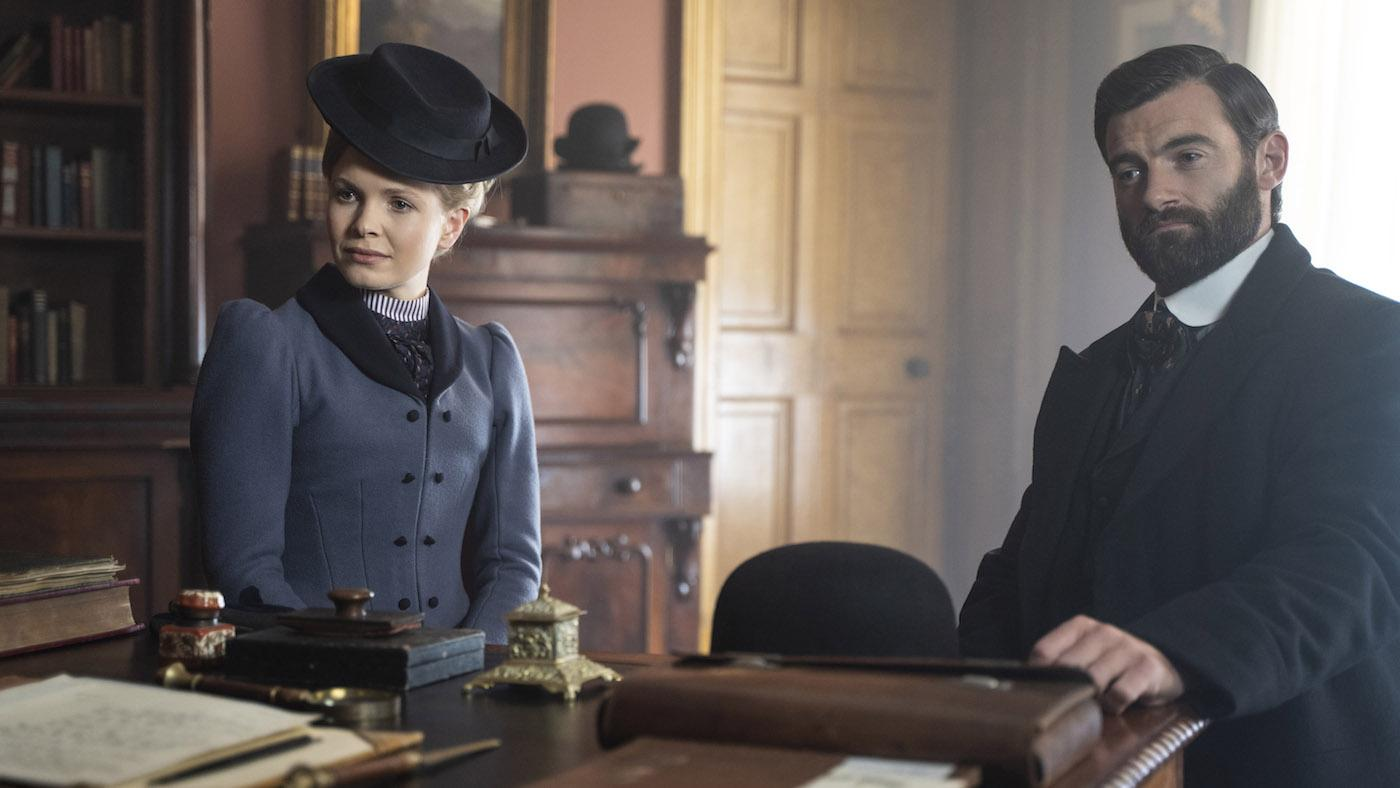Eliza and William in 'Miss Scarlet and the Duke.' Photo: Masterpiece