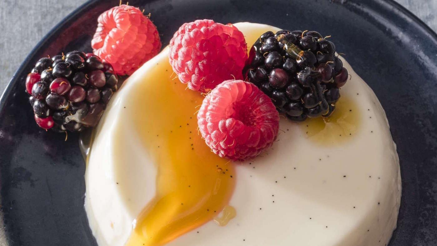 America's Test Kitchen's Buttermilk Panna Cotta. Photo: Carl Tremblay