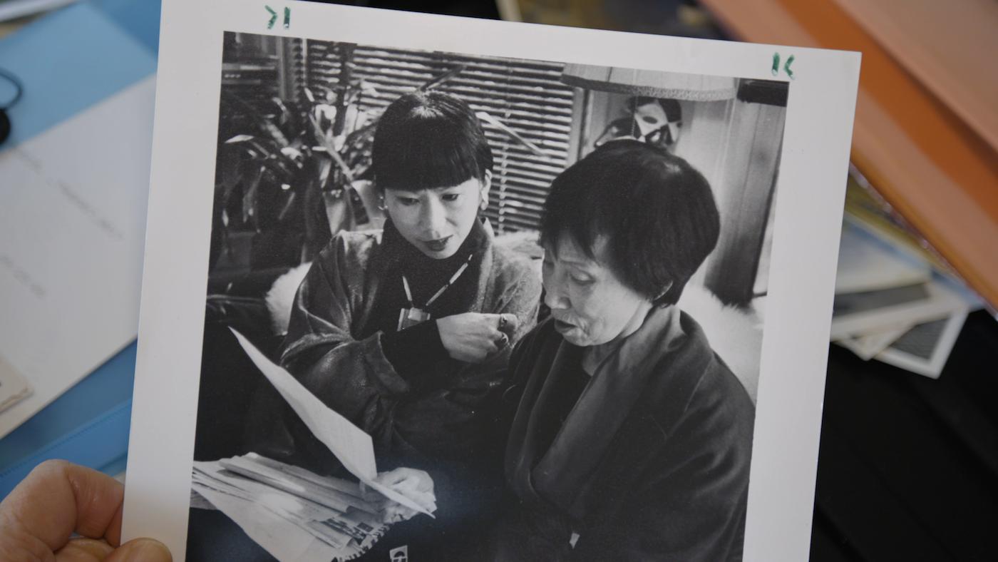 Amy Tan. Image: Courtesy of KPJR Films