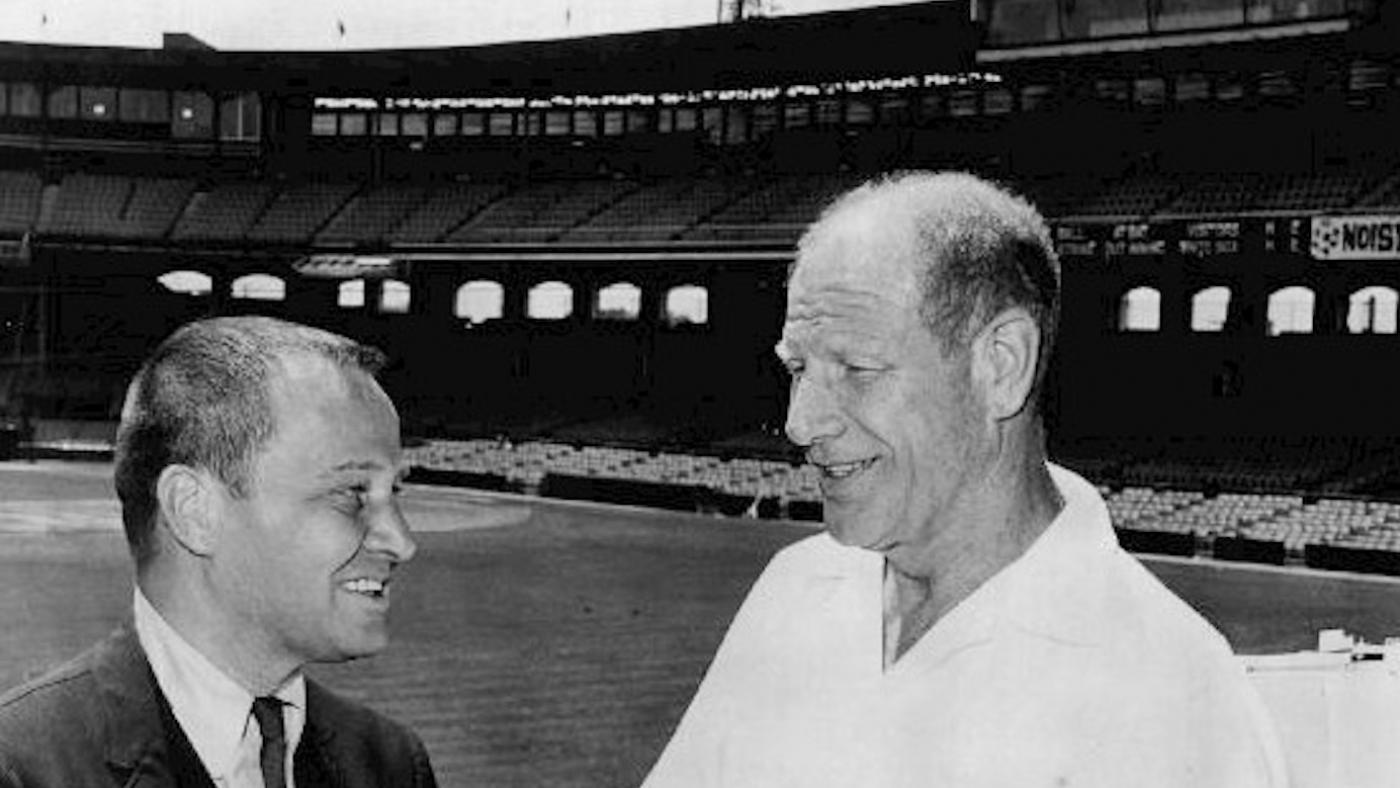 Bill Veeck with Jim McKay on Wide World of Sports in 1964. Photo: Wikimedia Commons