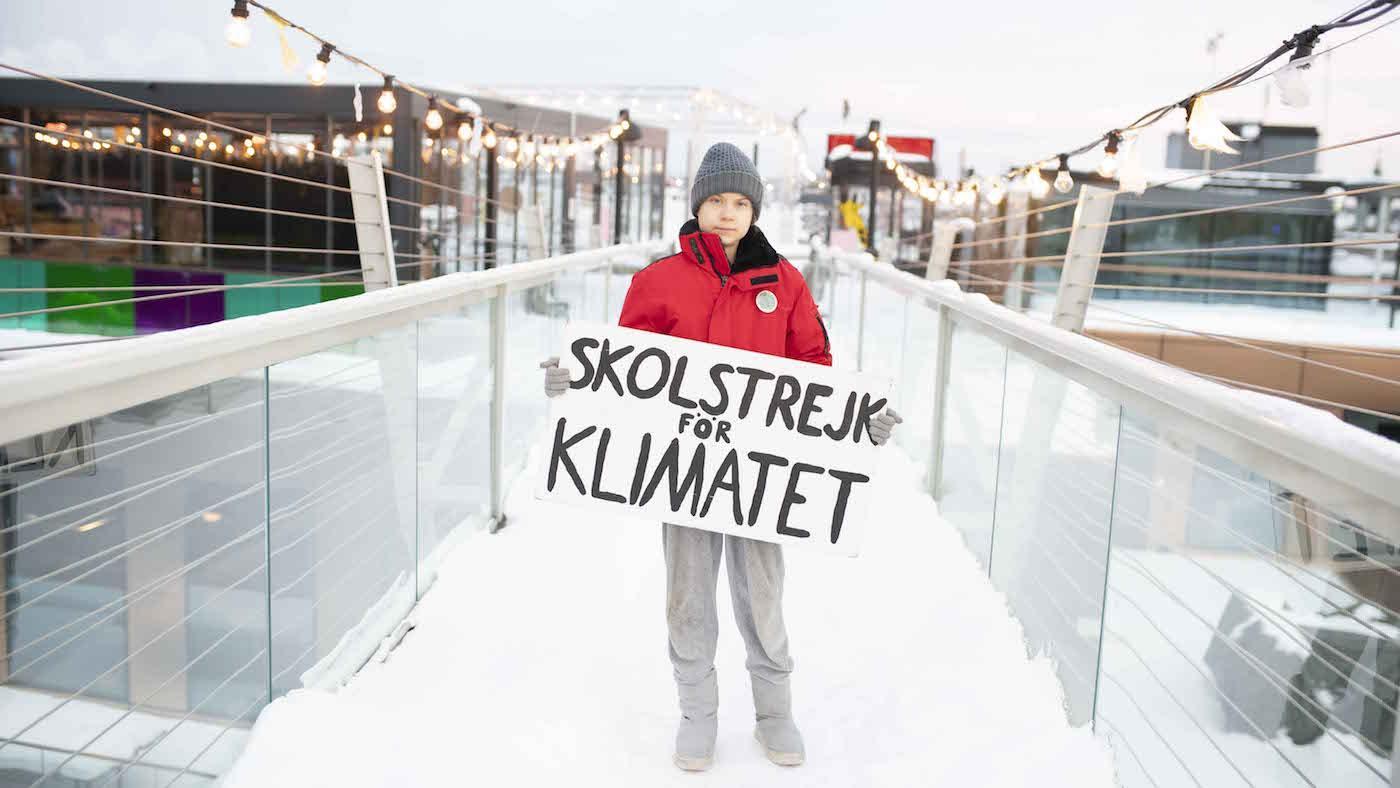 Greta Thunberg in Stockholm. Photo: Banfa Jawla/BBC Studios