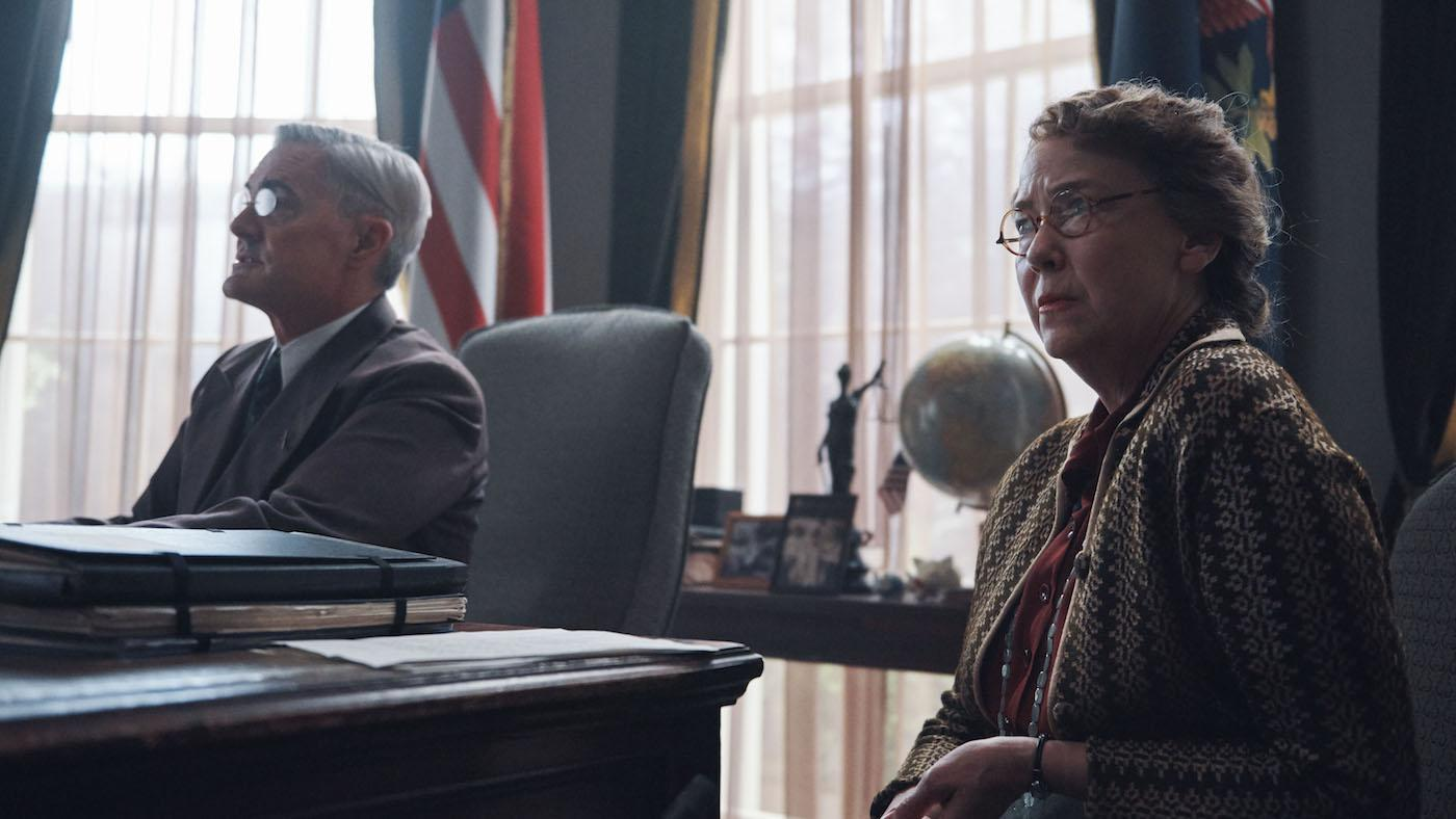 FDR and Eleanor Roosevelt in 'Atlantic Crossing'