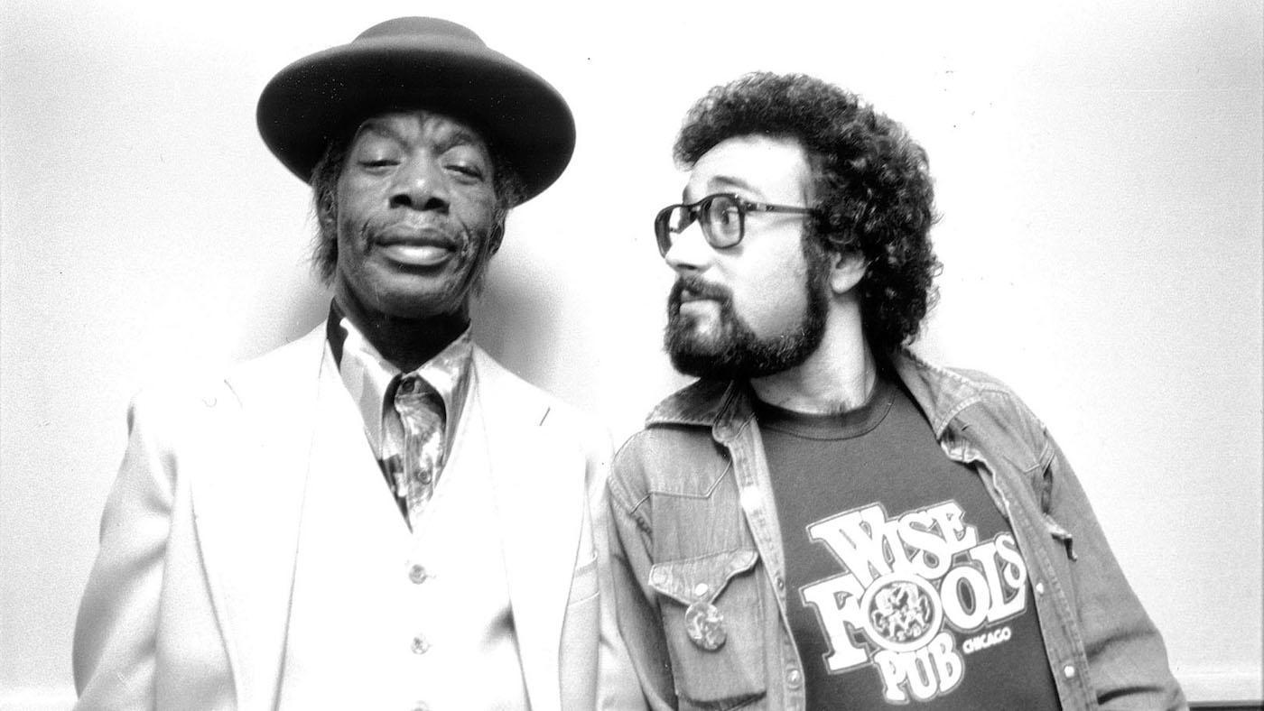 Professor Longhair and Bruce Iglauer. Photo: Alligator Records/Michael Smith