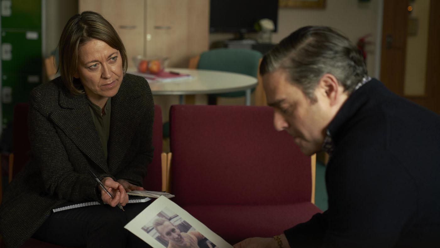Cassie and Dean Barton in 'Unforgotten.' Photo: Mainstreet Pictures LTD
