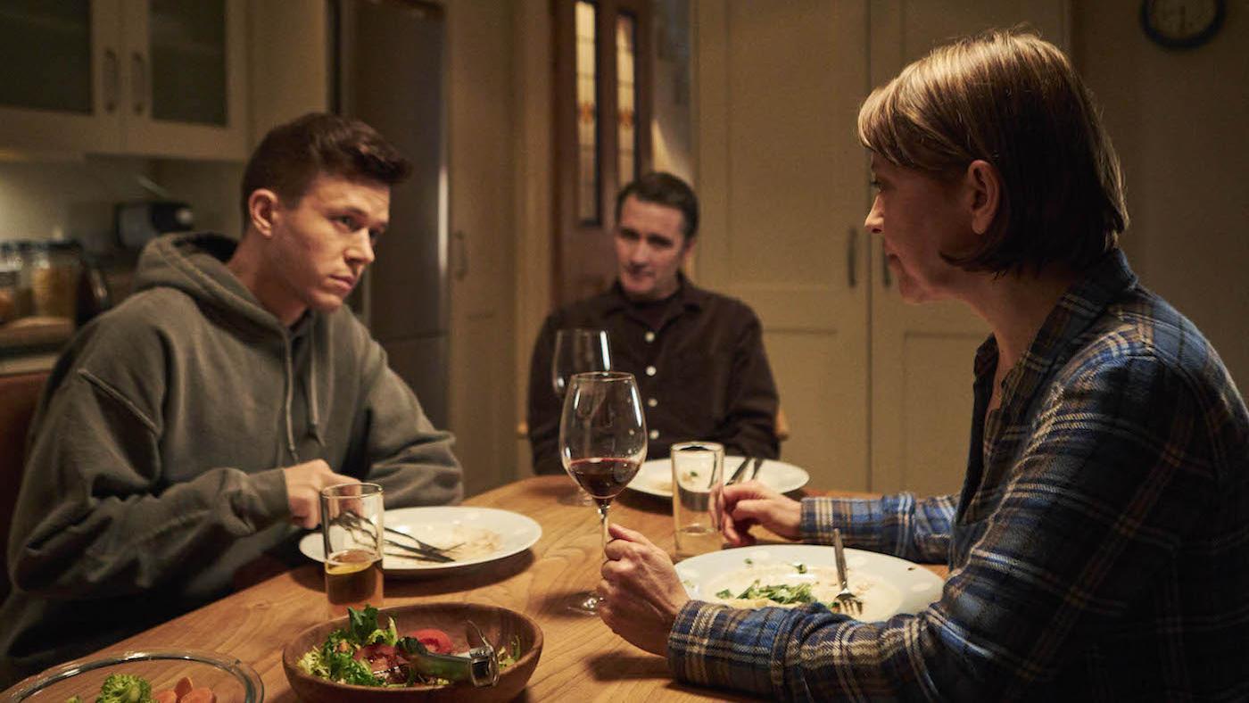 Cassie with Adam and John in 'Unforgotten.' Photo: Mainstreet Pictures LTD