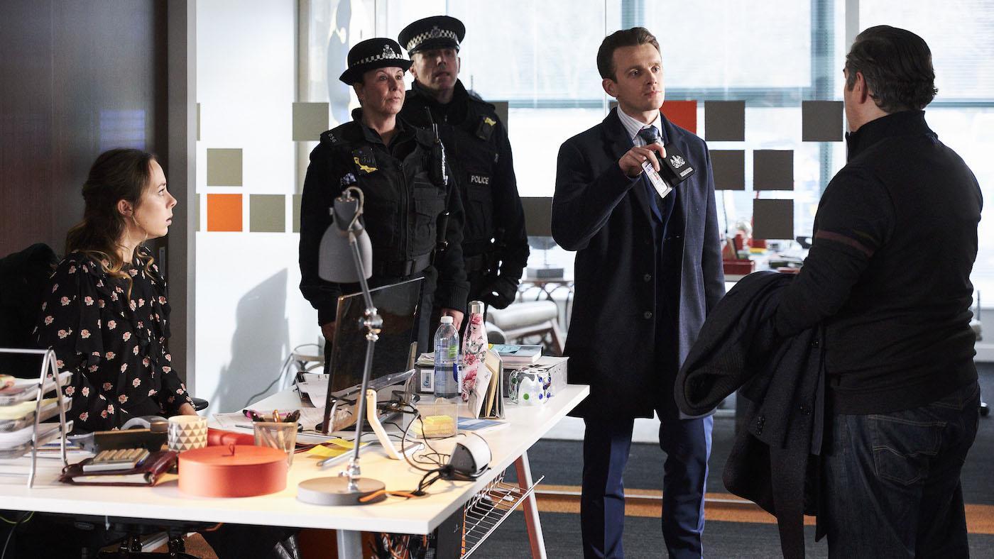Dean Barton in 'Unforgotten.' Photo: Mainstreet Pictures LTD