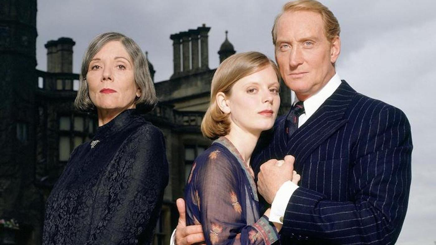 Diana Rigg, Emilia Fox, and Charles Dance in the 1997 'Masterpiece' version of 'Rebecca'