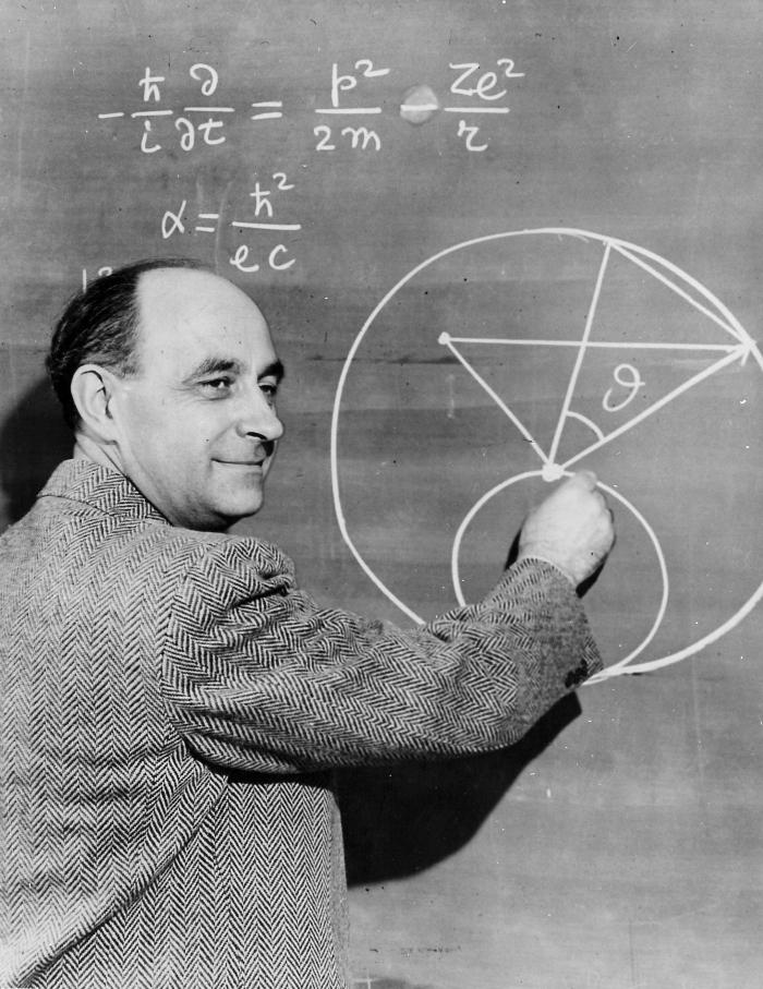 "The legendary physicist Enrico Fermi, nicknamed ""Pope"" for his supposed infallibility. (Photo courtesy of University of Chicago)"