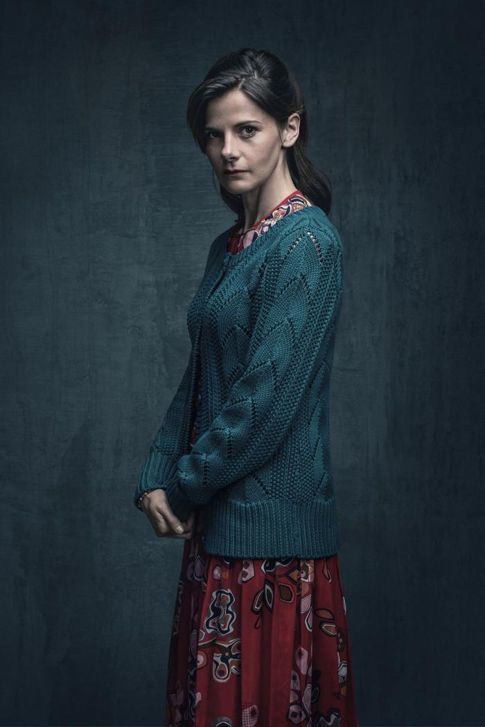 Louise Brealey's Molly Hooper finally states her love for Sherlock, but in awful circumstances. (Todd Antony/Hartswood Films 2016 for MASTERPIECE)