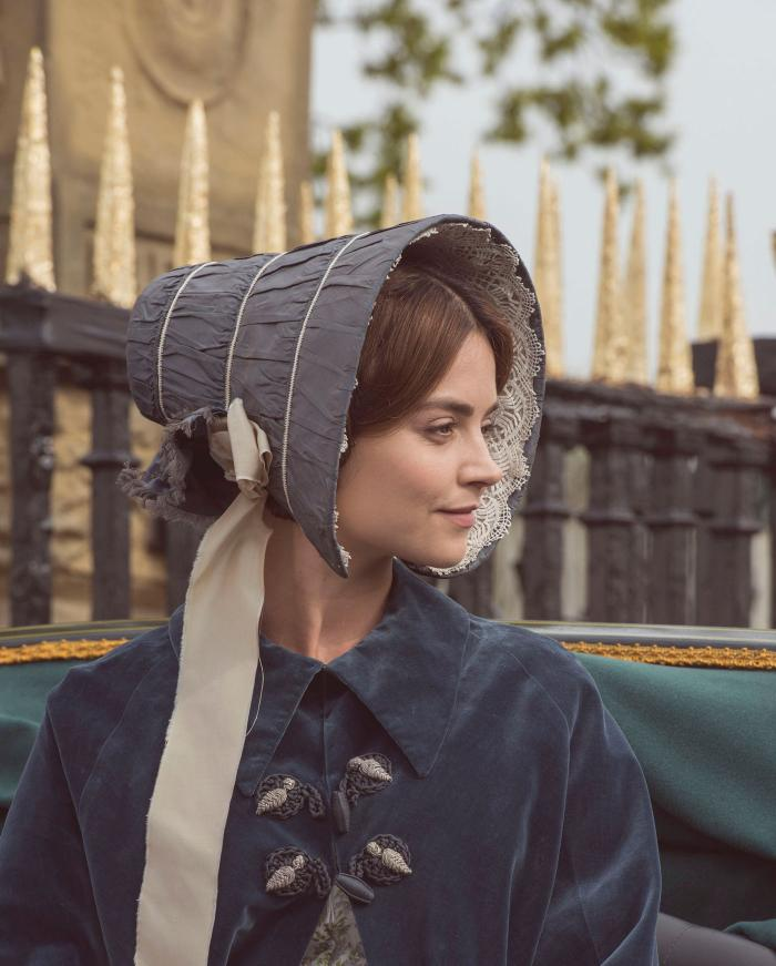 Jenna Coleman as Queen Victoria. (ITV Plc)