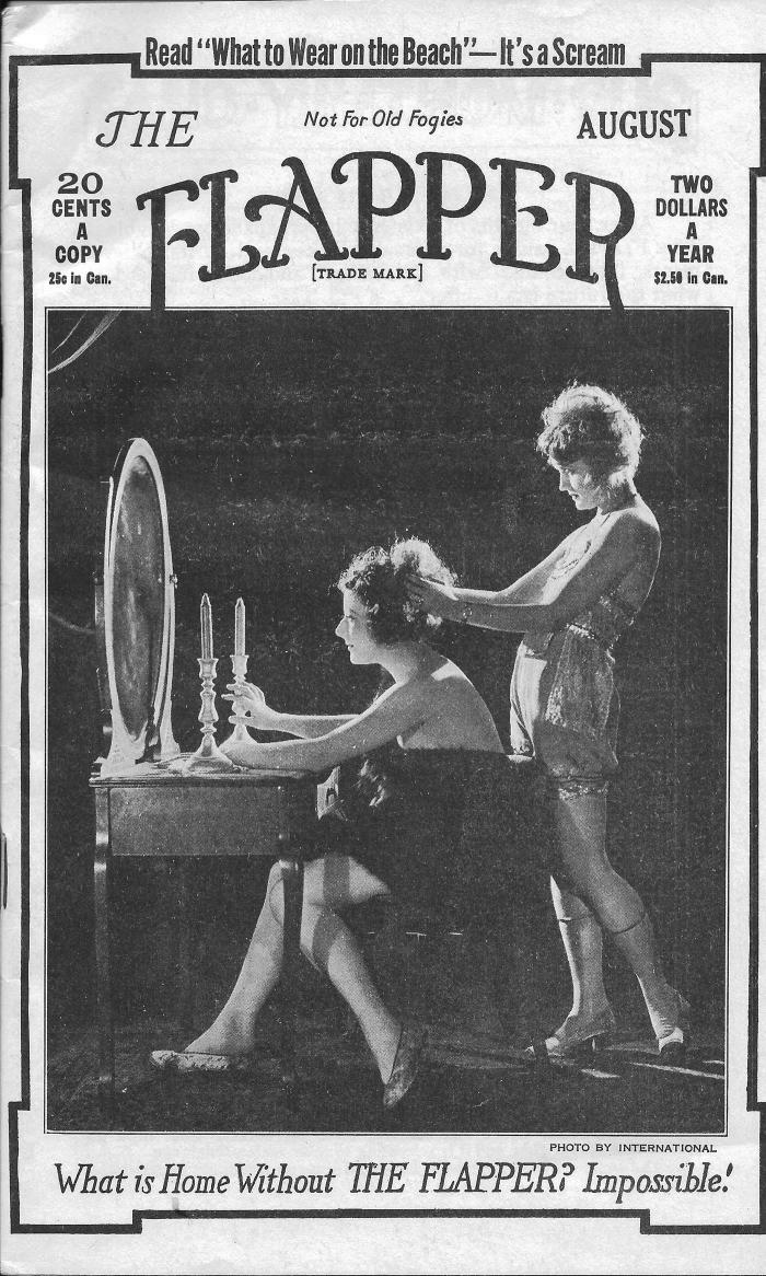 An issue of 'Flapper' magazine, which was based in Chicago, from 1922. Image courtesy of Joseph Gustaitis