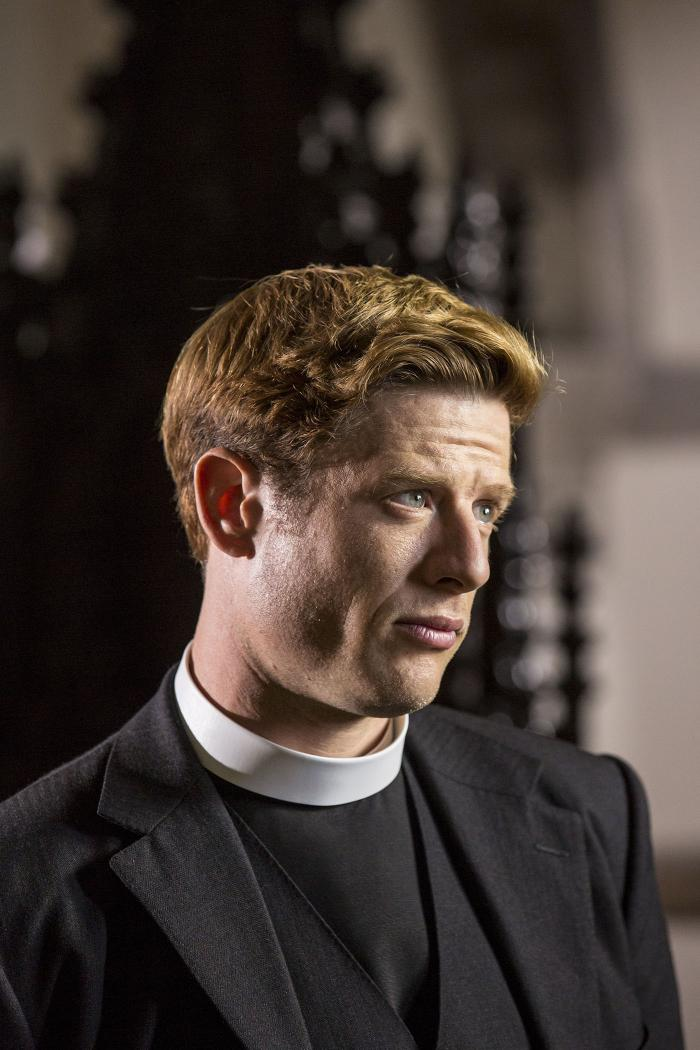 James Norton as Sidney in Grantchester. Photo: Colin Hutton and Kudos/ITV for MASTERPIECE