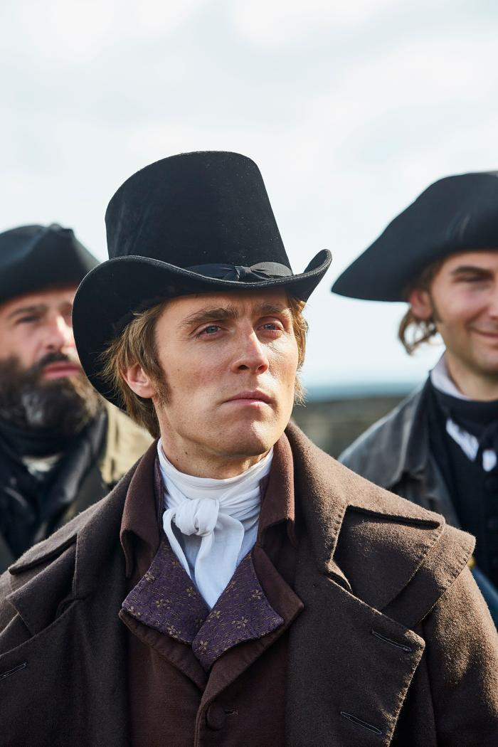 Jack Farthing as George Warleggan in Poldark. Photo: Mammoth Screen for BBC and MASTERPIECE