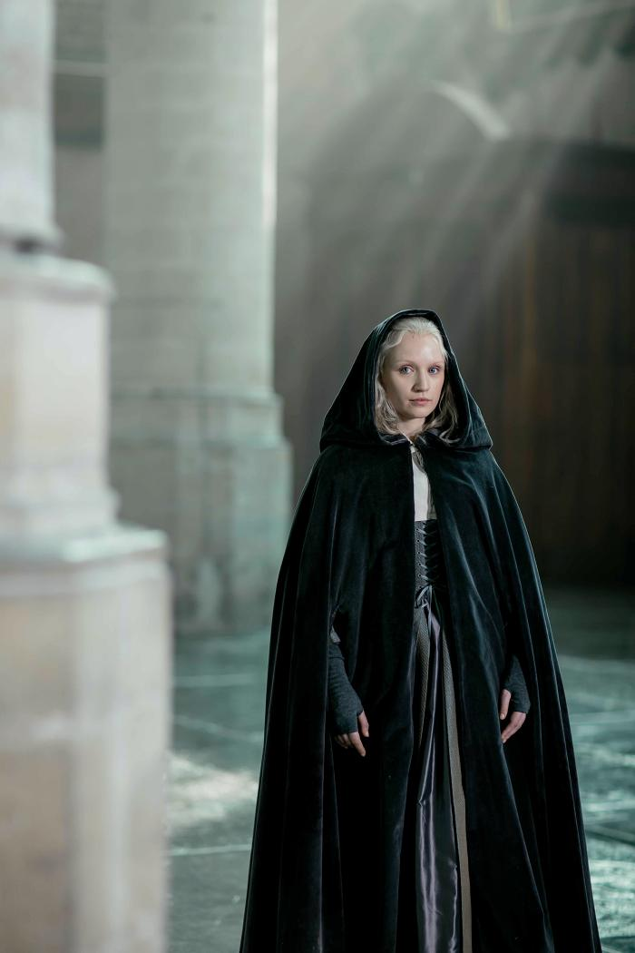 Emily Berrington as the Miniaturist. Photo: The Forge/Laurence Cendrowicz for BBC and MASTERPIECE
