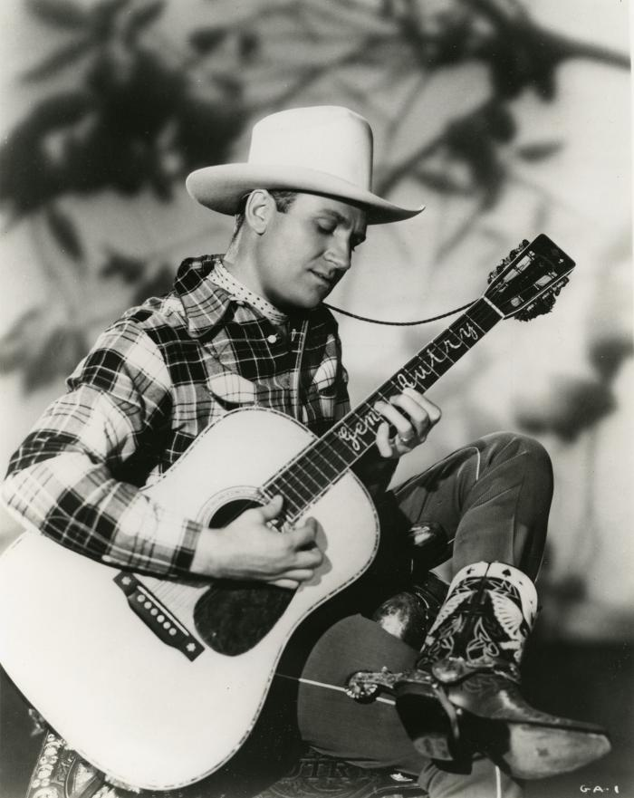 Gene Autry, c.1935. Image: Courtesy of Country Music Hall of Fame® and Museum
