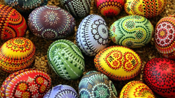 Eggs have been decorated for thousands of years and have long been associated with death and rebirth.