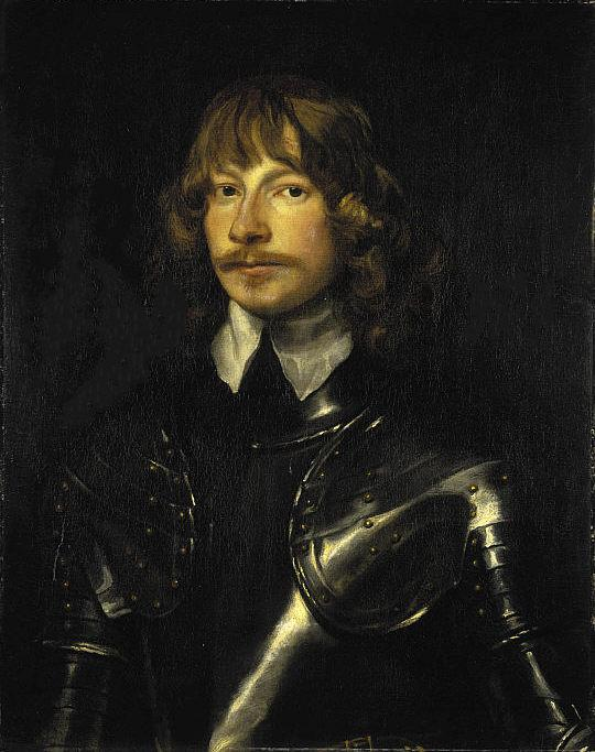 "Painting of James G. Montrose, a 17th century Scottish military leader known as ""the Great Montrose,"" by William Dobson."