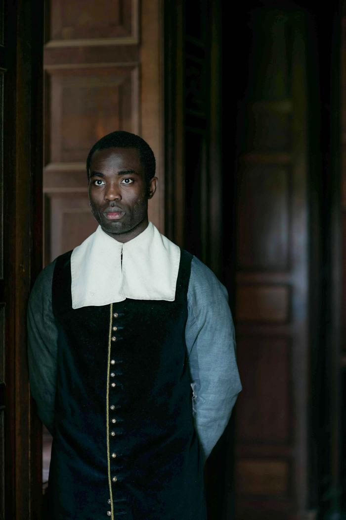 Paapa Essiedu as Otto in The Miniaturist. Photo: The Forge/Laurence Cendrowicz for BBC and MASTERPIECE