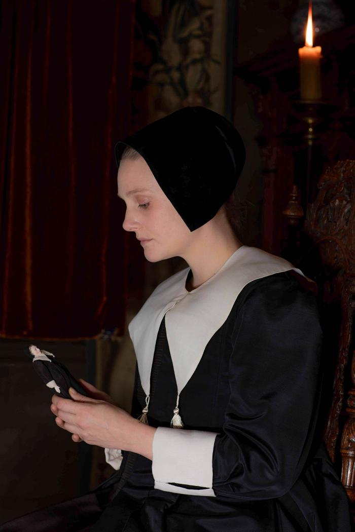 Romola Garai as Marin Brandt in The Miniaturist. Photo: The Forge/Laurence Cendrowicz for BBC and MASTERPIECE