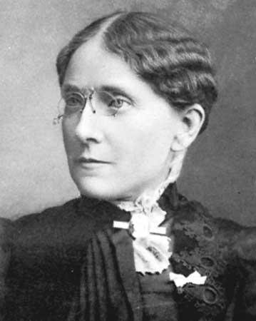 Frances E. Willard, the president of the Women's Christian Temperance Union from 1879 until 1898