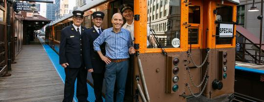 A Vintage 'L' Tour with Geoffrey Baer of Chicago's Neighborhoods