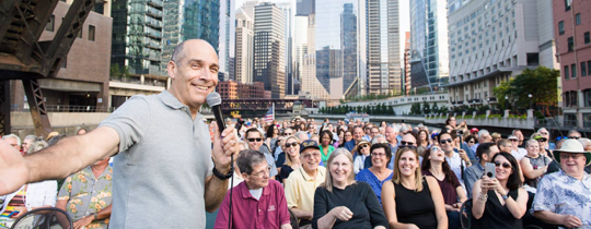 River Tour on Chicago's Leading Lady with Geoffrey Baer