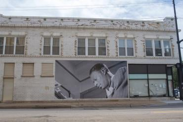 "Nat ""King"" Cole Mural"