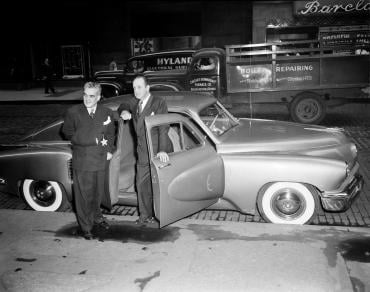 preston tucker movie essay Tucker's innovations of aerodynamic styling, padded dash, pop out windows, seat belts, fuel injection and disc brakes were slowly adopted by detroit and are found in the cars you are driving now preston tucker died of an illness six years after the trial, but his ideas will live forever.