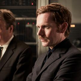 Morse and Thursday in Endeavour. Photo: Jonathan Ford and Mammoth for ITV and MASTERPIECE