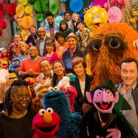 Sesame Street's 50th Anniversary Celebration. Photo: Richard Termine