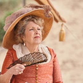 Lady Denham in Sanditon. Photo: Red Planet Pictures/ITV 2019