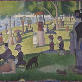 Georges Seurat. A Sunday on La Grande Jatte, 1884. The Art Institute of Chicago