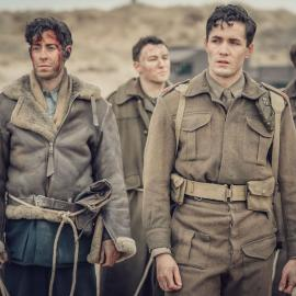 Harry at Dunkirk in 'World on Fire.' Photo: Ben Blackall / Mammoth Screen 2019