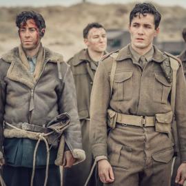 Harry at Dunkirk in 'World on Fire.' Photo: Ben Blackall / Mammoth Screen 2019