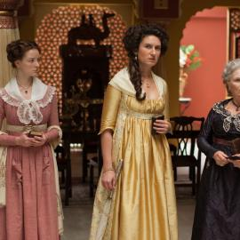Margaret Osborne, Violet, and Henrietta Beecham in 'Beecham House.' Photo: Masterpiece