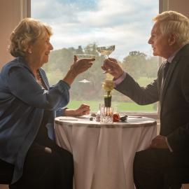 Celia and Alan in 'Last Tango in Halifax.' Photo: Matt Squire