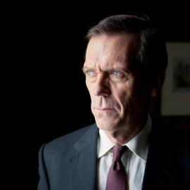 Hugh Laurie as Peter Laurence in 'Roadkill.' Photo: The Forge/Robert Viglasky