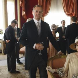 Lord Grantham and Cora, Countess of Grantham in 'Downton Abbey'
