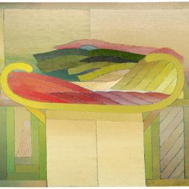 Miyoko Ito. Chinoiserie, 1970. Courtesy The Elmhurst University Art Collection