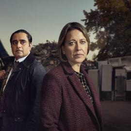 Cassie and Sunny in season 4 of Unforgotten. Photo: Mainstreet Pictures LTD