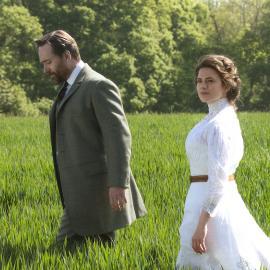 Henry Wilcox (Matthew MacFadyen) and Margaret Schlegel (Hayley Atwell) in 'Howards End.' Photo: Courtesy Starz Entertainment