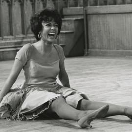 Rita Moreno in West Side Story rehearsals. Photo: MGM Media Licensing