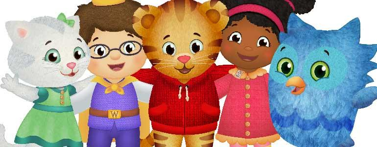 "Be My Neighbor Day"" with Daniel Tiger and Katerina Kittycat 