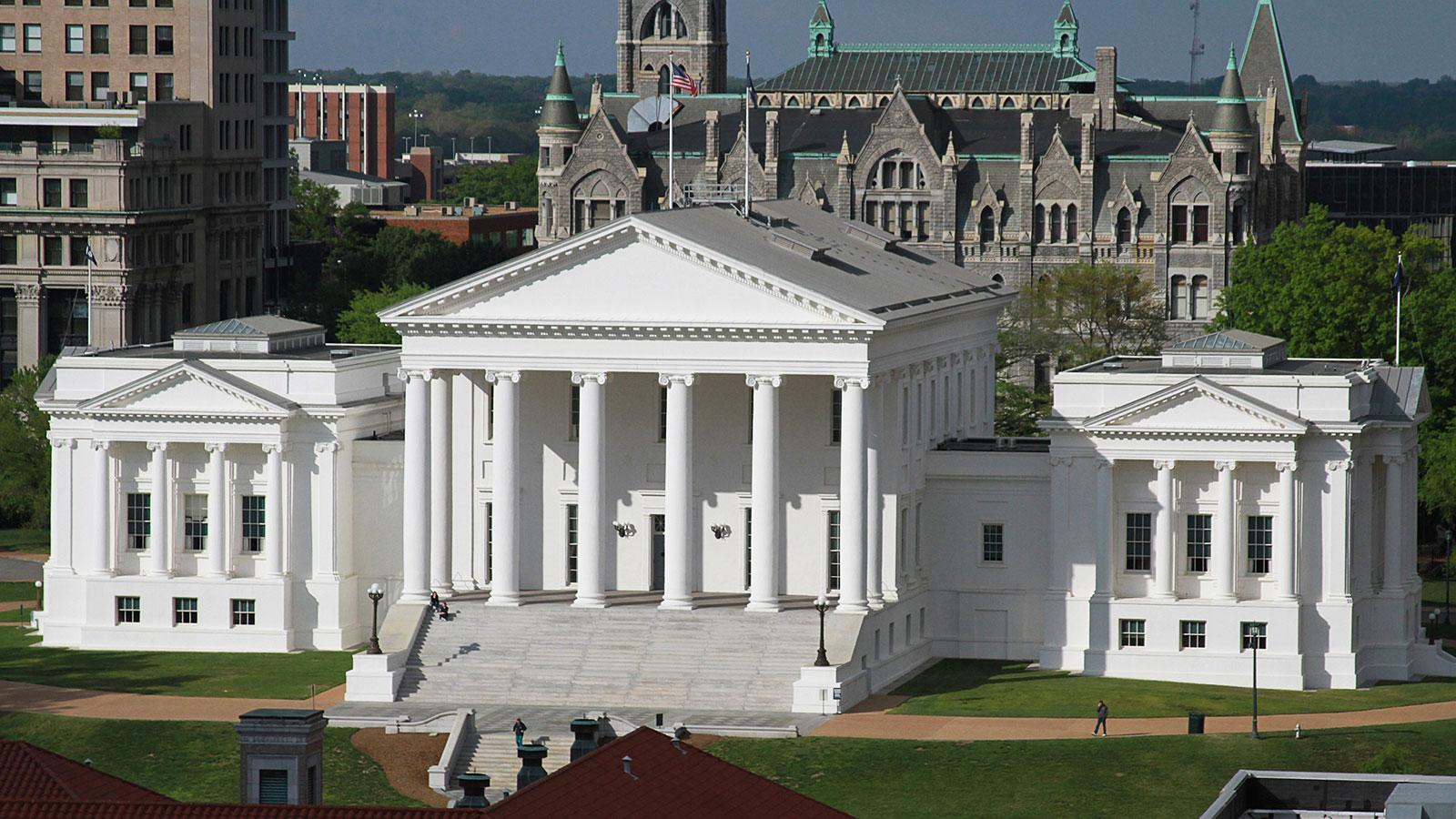 Virginia state capitol ten buildings that changed - Maison design moderne capital building ...