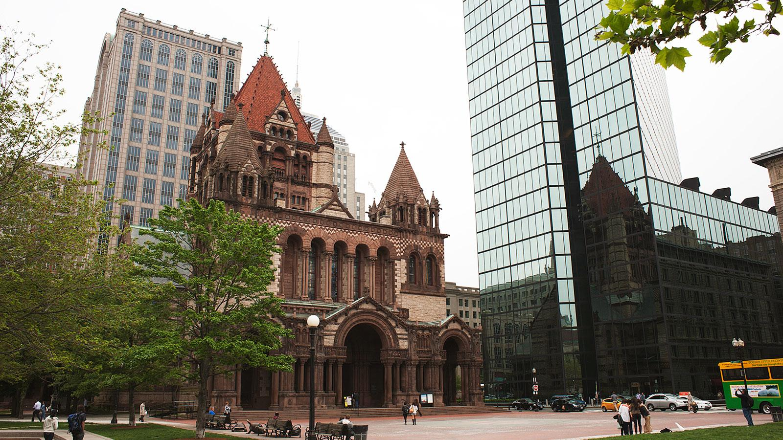 Architecture Buildings In Boston trinity church | ten buildings that changed america | wttw chicago