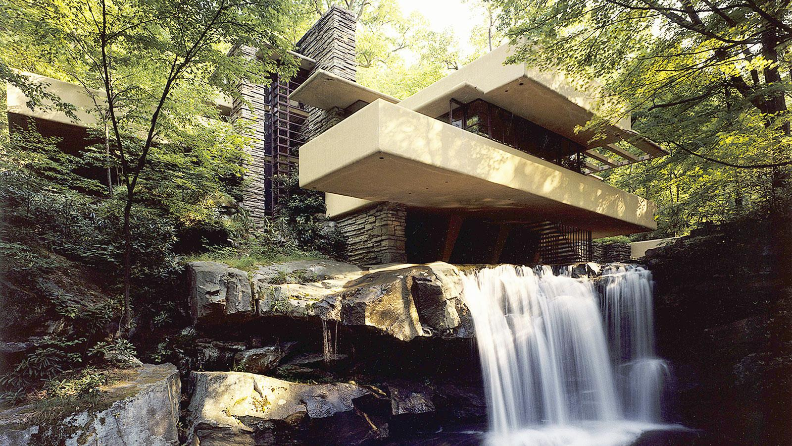 4 Fallingwater Mill Run Pennsylvania Frank Lloyd Wright 1936 38
