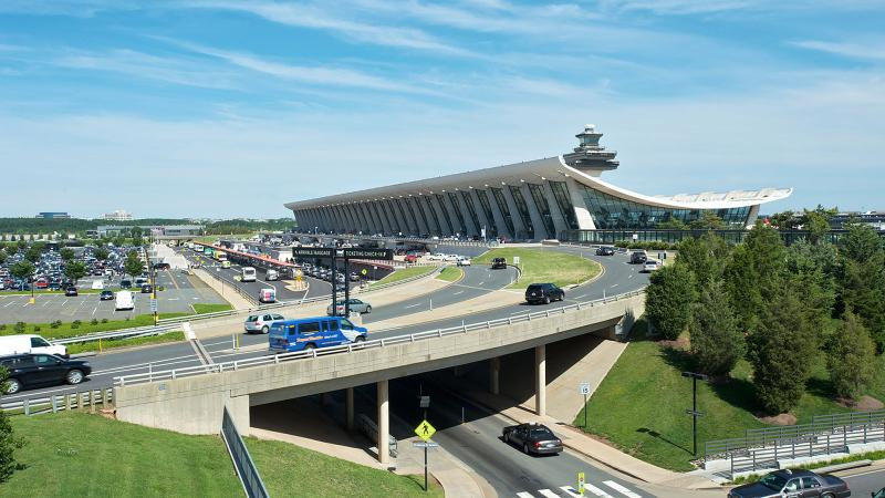 Eero Saarinen S Dulles International Airport Sits Just Outside Washington D C In Chantilly Virginia Photo Credit Antony Platt
