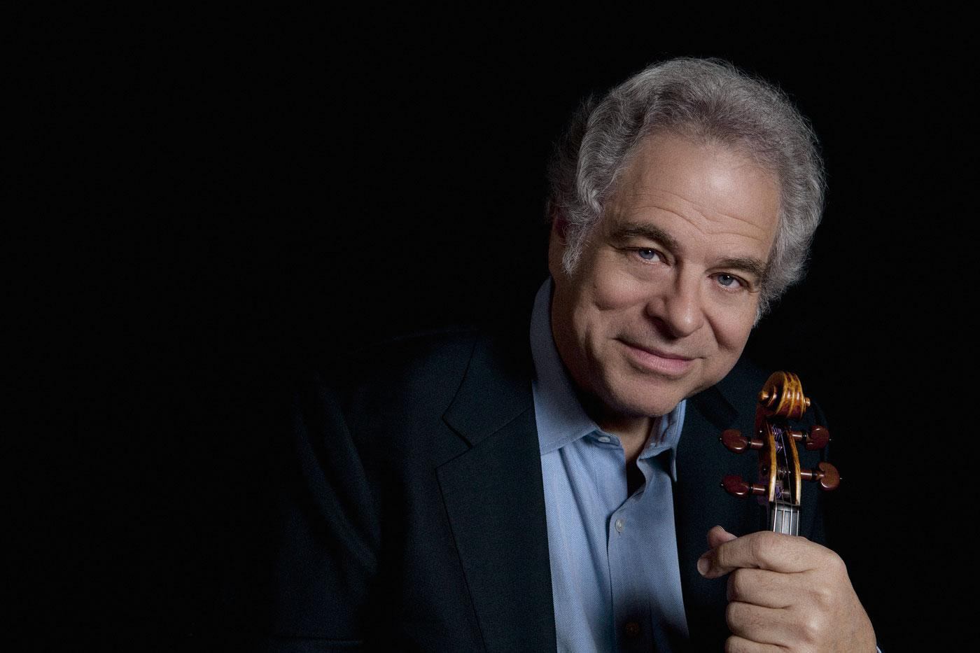 The violinist Itzhak Perlman. (Photo credit: Lisa Marie Mazzucco)