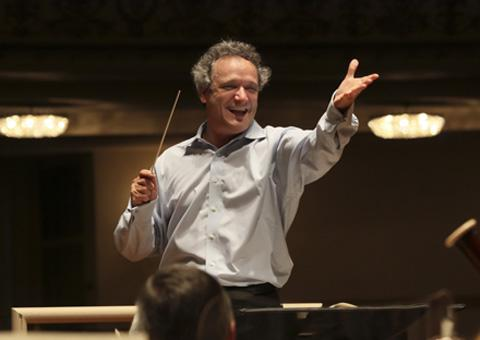 The conductor Louis Langrée. (Courtesy of Cincinnati Symphony Orchestra)